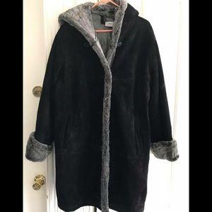Jackets & Blazers - DENIIS BASSO WARM SUEDE COAT!  Size 1 X